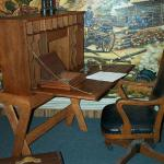 Officer's Desk on display at the Baxter Springs Heritage Center & Museum